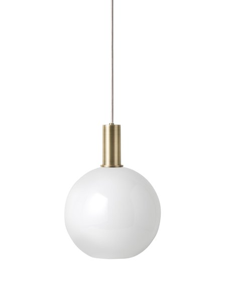 Ferm Living Socket pendant low light - Brass