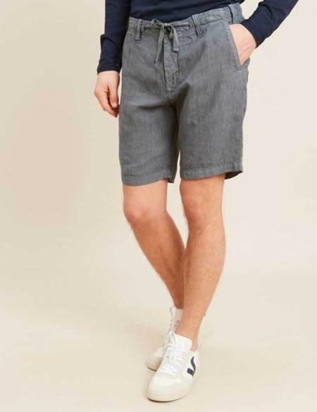 Hartford Boy Linen Shorts - Petrol