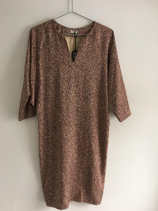 RHOI Nova Split Neck Dress