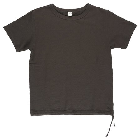 Dubbleworks for Xhibition Cord French Terry T-Shirt - BLACK