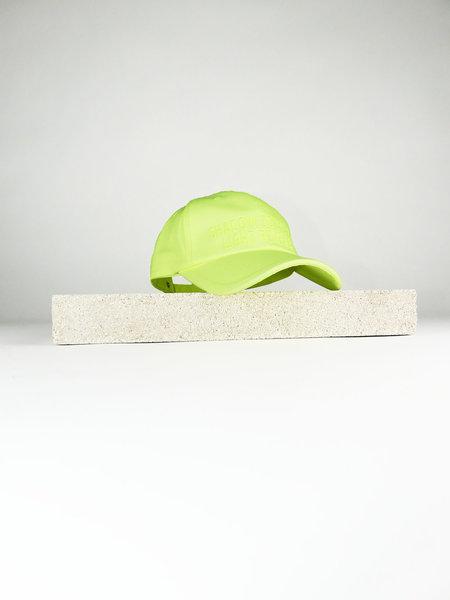 JUUN.J FRONT EMROIDERED CAP - LEMON