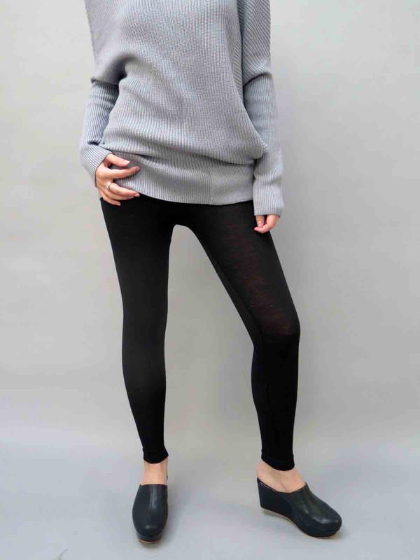 WOL HIDE High Waisted Merino Wool Leggings