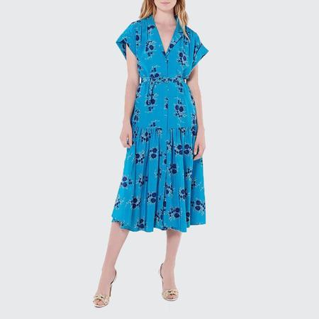 Veronica Beard Meagan Dress - Turquoise