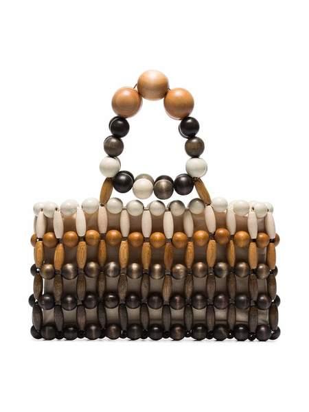 Cult Gaia Cora Bamboo Clutch - Multi