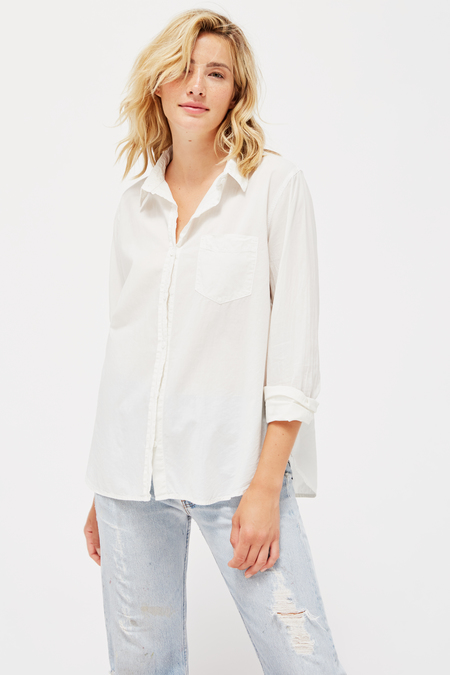 Lacausa Nash Button Up in Moon