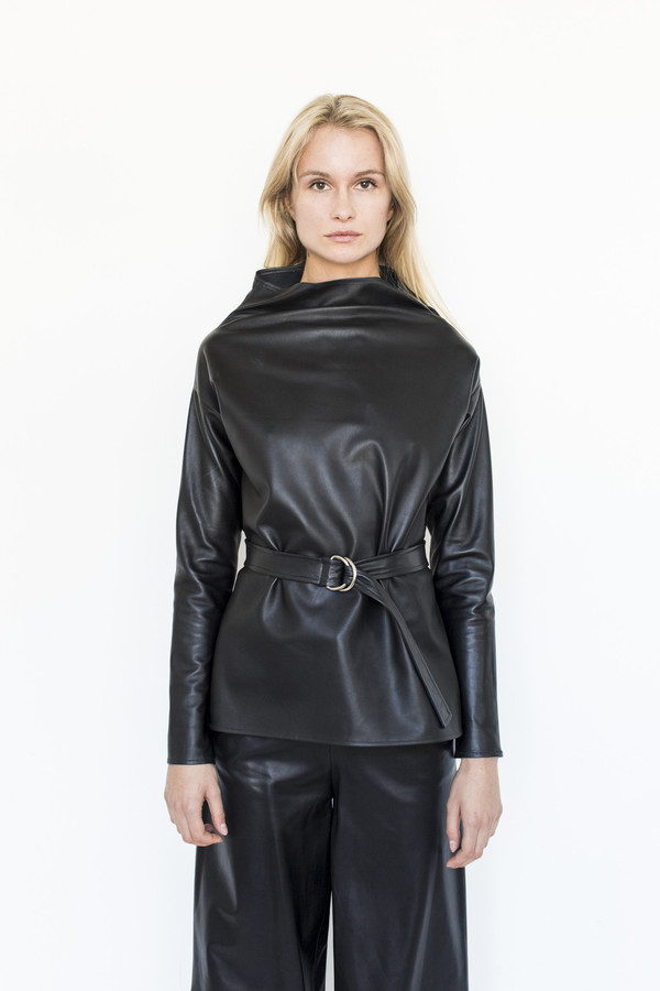 Collina Strada Nova Belted Turtleneck
