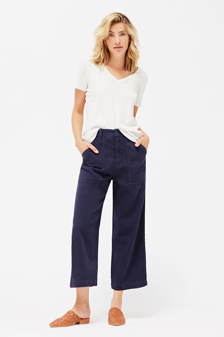 Lacausa Stella Trousers in Velvet