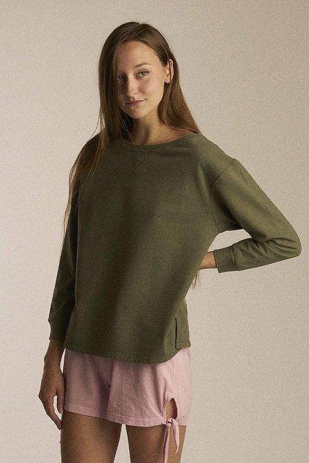 Salua Lingerie Oversize Drop-Shoulder Pullover