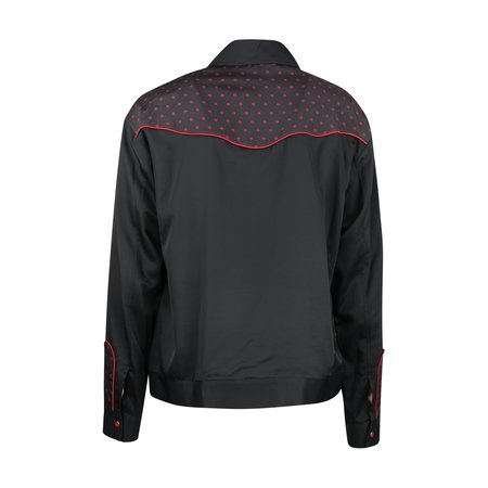 JohnUNDERCOVER Rose Print Jacket