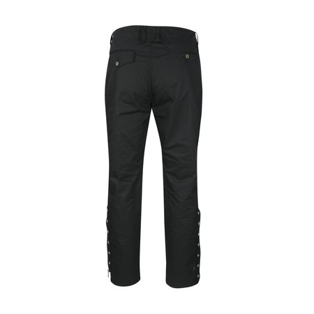 JohnUNDERCOVER Zip Cuff Twill Trousers - Black