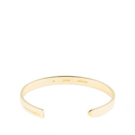 HNDSM Paris Cuff - 14K Gold