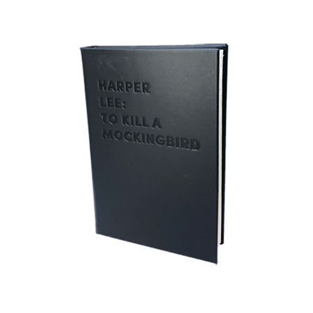 """Graphic Image, Inc """"TO KILL A MOCKINGBIRD"""" by Harper Lee DEBOSSED LEATHER BOOK"""