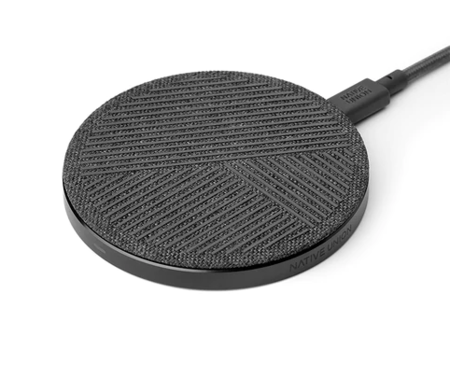 NATIVE UNION DROP WIRELESS CHARGER - Zebra/Rose