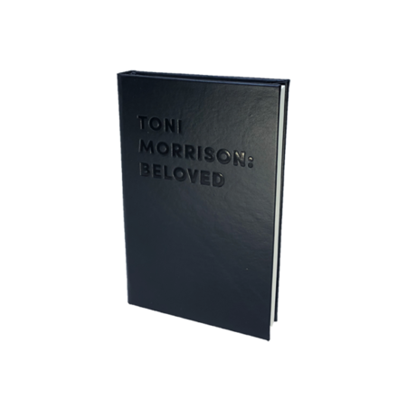 """Graphic Image, Inc """"BELOVED"""" by Toni Morrison DEBOSSED LEATHER BOOK"""