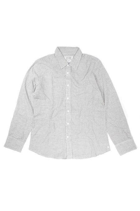 Dushyant Asthana Hand-Loomed Amir Full-Sleeve Shirt - Gray Check