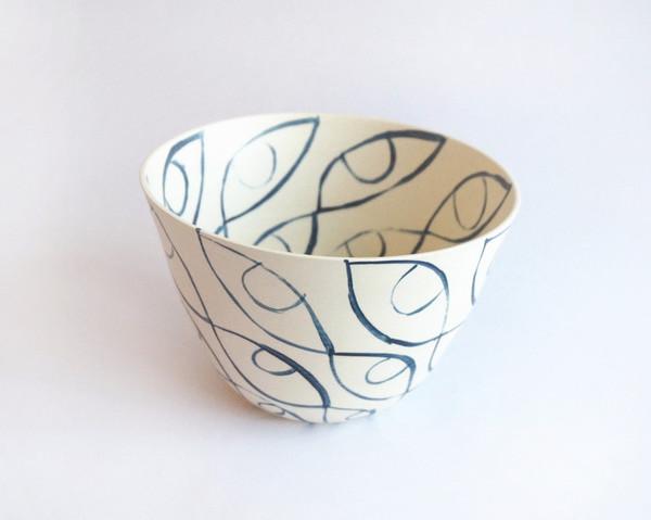 Workaday Handmade Seeing Eye Bowl