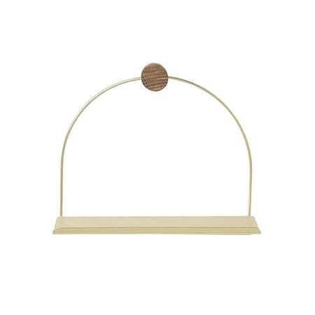 Ferm Living Bathroom Shelf - Brass