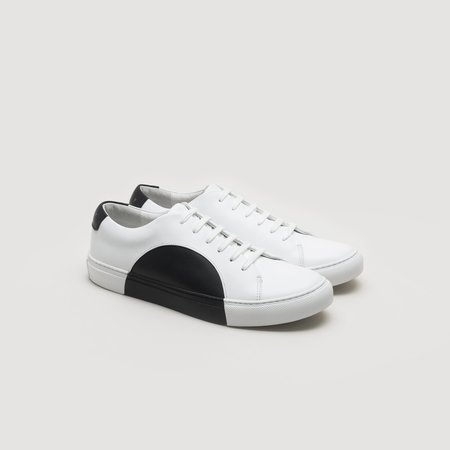 THEY Circle Low - White/Black