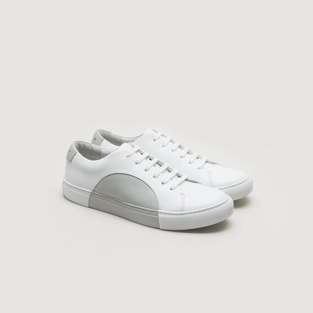 THEY Circle Low - White/Grey