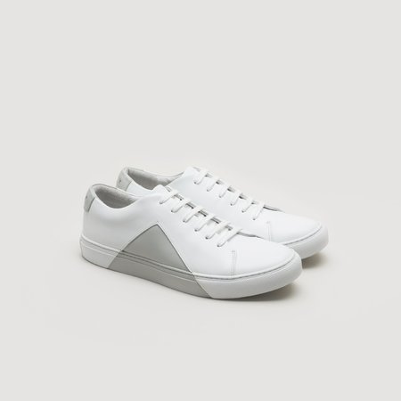 THEY Triangle Low sneaker - White/Grey