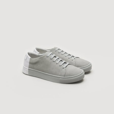 THEY Two-Tone Low Suede - Grey/White