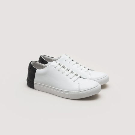 THEY Two-Tone Low - White/Black
