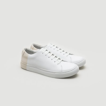 THEY Two-Tone Low - White/Blush