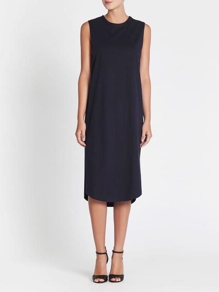 C & M Camilla And Marc Wafer Muscle Tank Dress - Navy