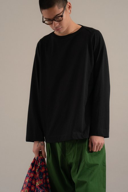 Casey Casey Oliver Long Sleeve Jersey Tee - Green