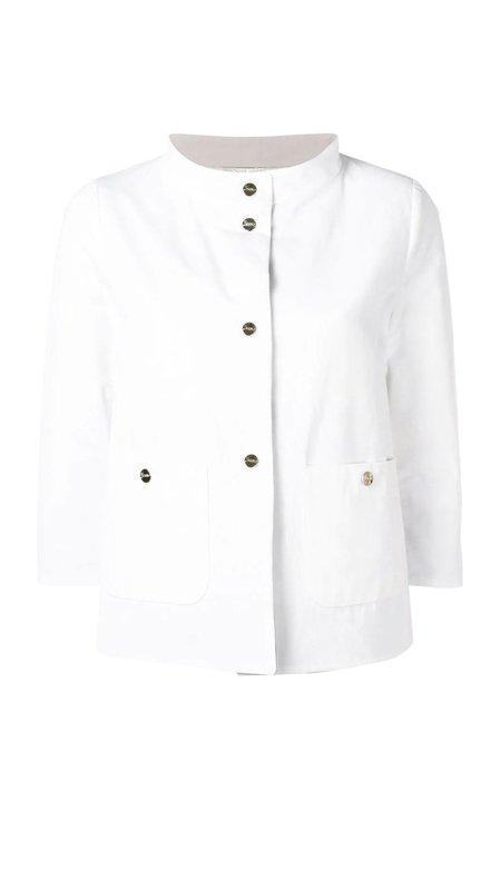 Herno Reversible Padded Jacket - White/Taupe