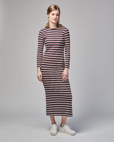 Gary Bigeni Soso dress - brown stripes