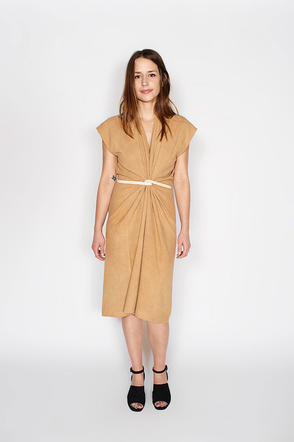 Sale! Tempest Dress, Silk Noil