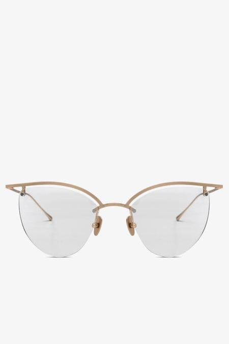 Smoke x Mirrors The Line 4 Cat Eye Optical Glasses - Matte Gold