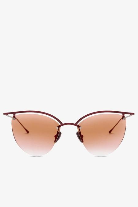 Smoke x Mirrors The Line 4 Cateye  Sunglasses - Scarlet