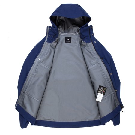 Goldwin Gore-Tex Mountain Jacket - Navy