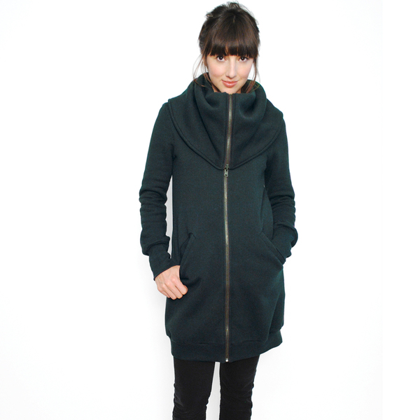 Forest Green Seacliff Coat