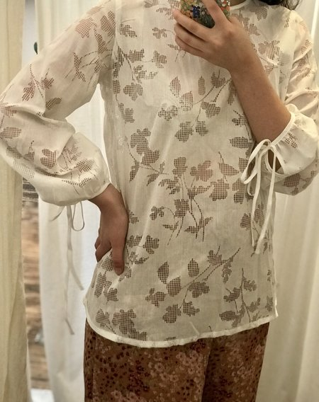 BEFORE MARCH Helena blouse - Cotton Devore