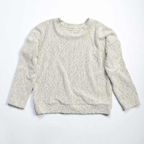 Make It Good Pebble Knit Sweatshirt