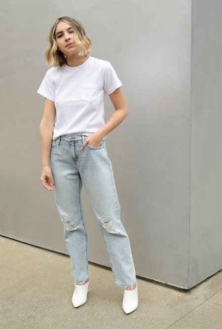 Hudson Jeans Jessi Relaxed Cropped Boyfriend Jean - Save Tonight