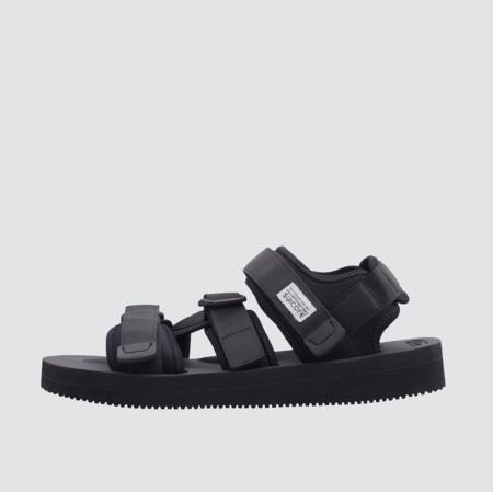 Suicoke Kisee-V Strap Sandal - Black