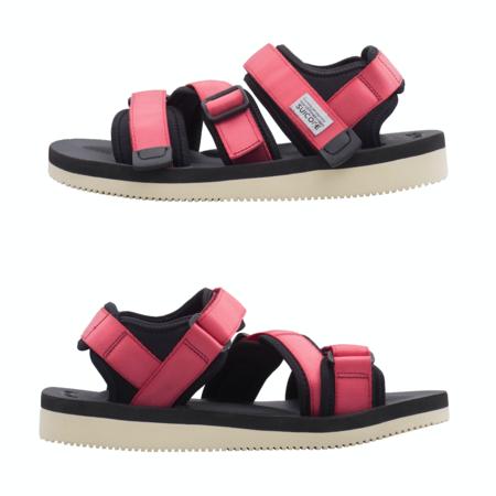 Suicoke Kisee-V Strap Sandal - Red