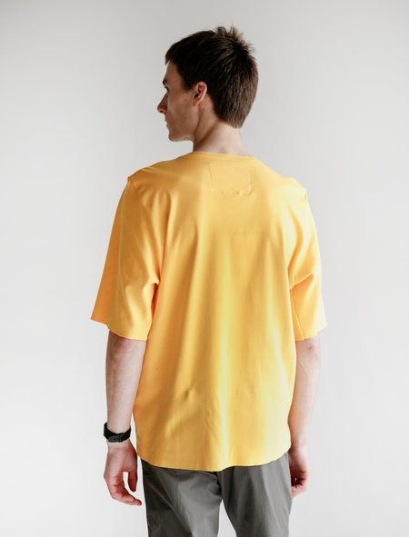 Camiel Fortgens Cotton Jersey Tailored Tee - Yellow