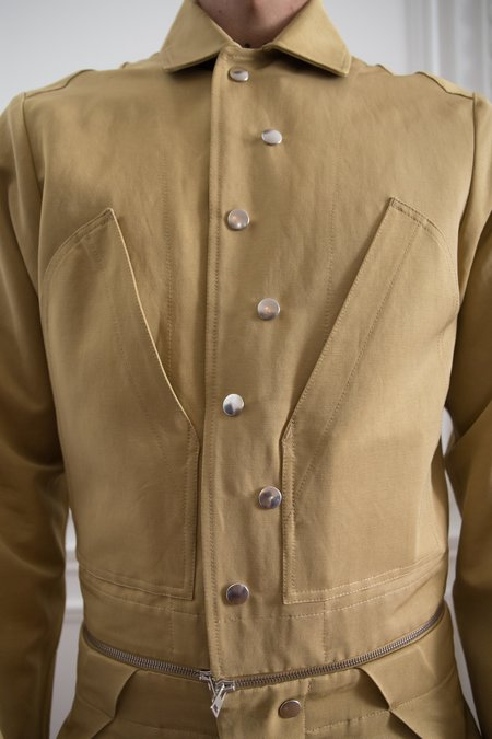 Mackintosh 0004 Two Piece Jumpsuit - Gold