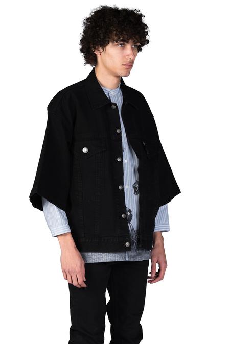 Christian Dada Denim Jacket - Black