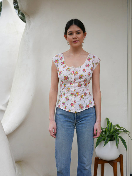planye Lily Top - Vintage Floral