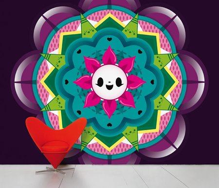 Domestic SCENIC WALLPAPER - Flower