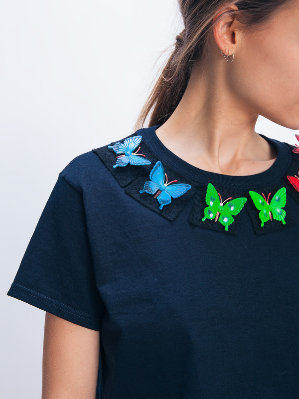 TOY SYNDROME BUTTERFLY TEE