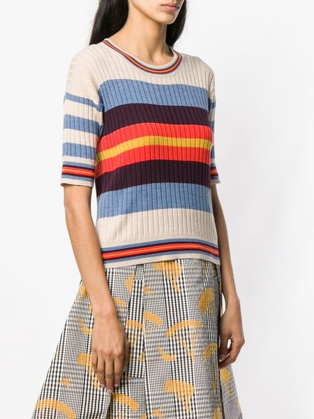 HENRIK VIBSKOV Knitted Top - Soap Stripes