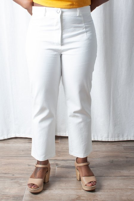 Loup Jackson Petite Jeans - Dirty White