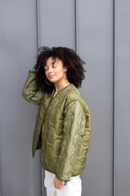 Prism Seattle Vintage Liner Jacket - Army